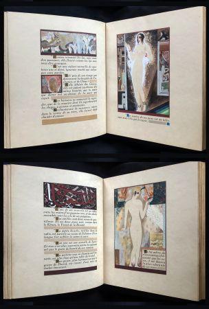 Livre Illustré Schmied - J.-C. Mardrus : HISTOIRE CHARMANTE DE L'ADOLESCENTE SUCRE D'AMOUR (1927).