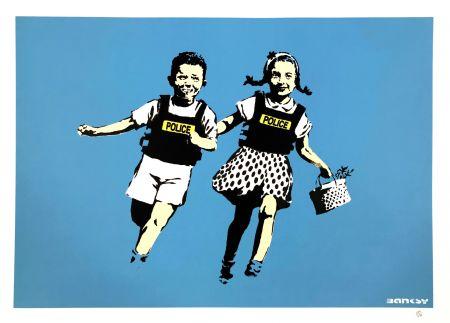 Sérigraphie Banksy - JACK AND JILL