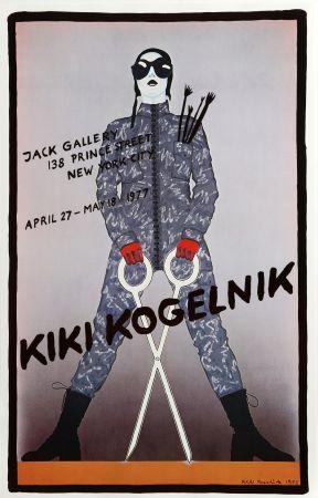 Affiche Kogelnik - Jack Gallery (Scissors)