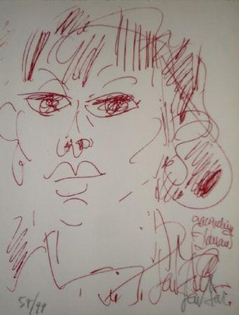 Lithographie Paul  - Jacqueline Danan