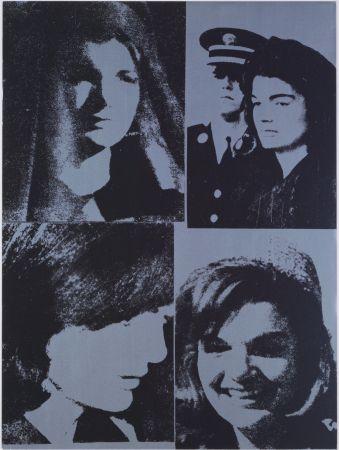 Sérigraphie Warhol - Jacqueline Kennedy III, 1966