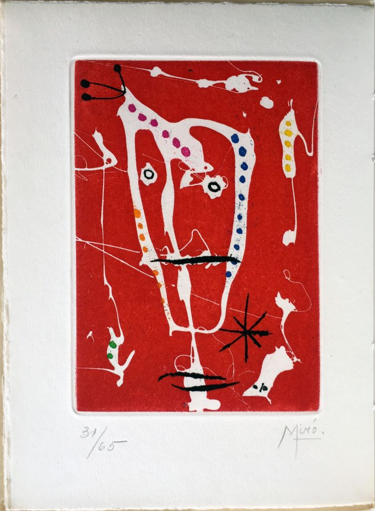 Livre Illustré Miró - Jacques Dupin : LES BRISANTS (Paris 1958)