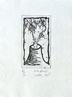 Gravure Alechinsky - Jadis