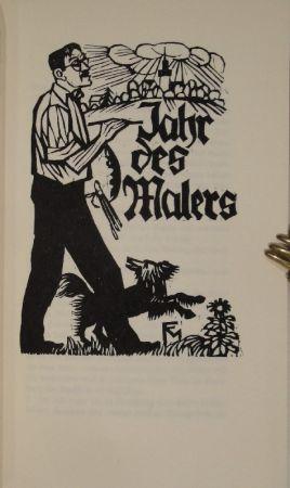 Livre Illustré Felixmuller  - Jahr des Malers