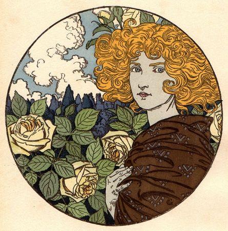 Lithographie Grasset - Jalousie
