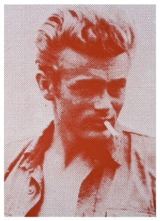 Sérigraphie Young - James Dean