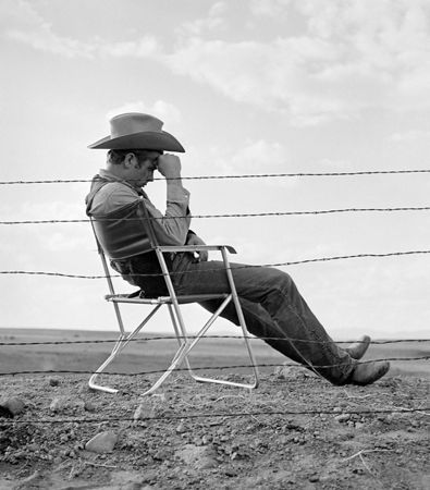Photographie Worth - James Dean seated