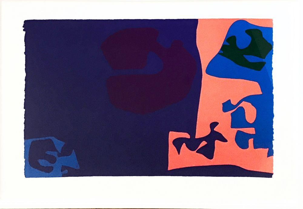 Sérigraphie Heron -  January 1973: Plate 18