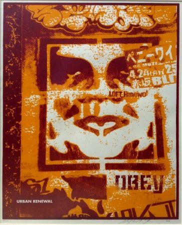 Sérigraphie Fairey - Japan Stencil