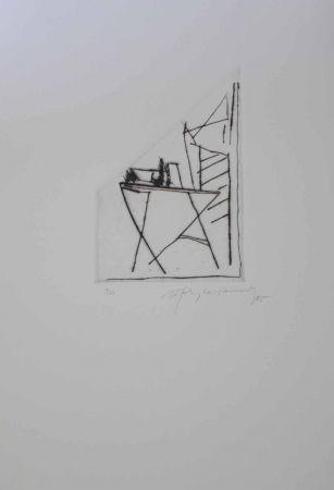 Gravure Ràfols Casamada - Jardí 2