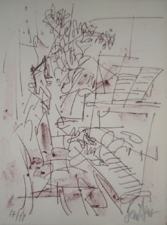 Lithographie Paul  - Jazz