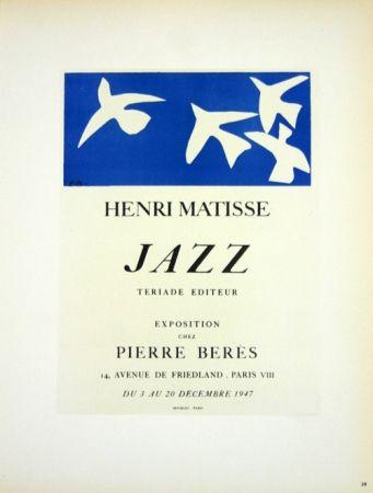 Lithographie Matisse - Jazz