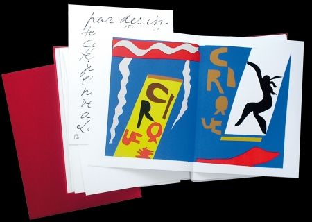 Lithographie Matisse - JAZZ - 20 Lithographies / 20 Lithographs - Draeger / Anthèse 2005 - Signé par Draeger / Hand-signed by Draeger