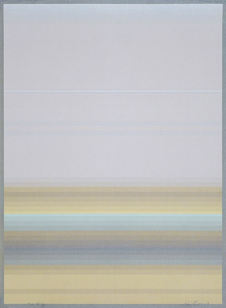 Lithographie Bird - JB 0011