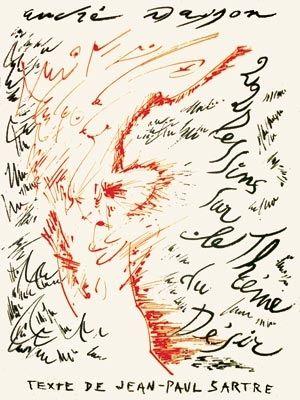 Livre Illustré Masson - Jean-Paul Sartre : Vingt-deux dessins sur le thème du désir