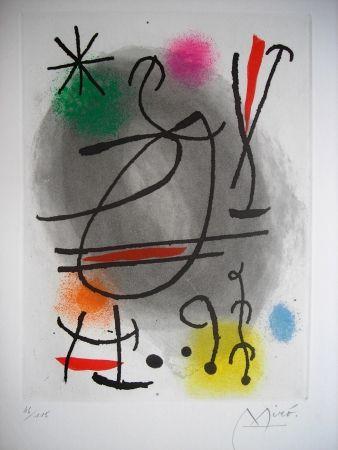 Eau-Forte Et Aquatinte Miró - Jean Cassou: vingt-deux poèms