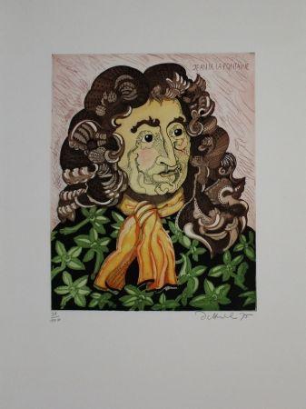 Eau-Forte Et Aquatinte Dittrich - Jean de la Fontaine