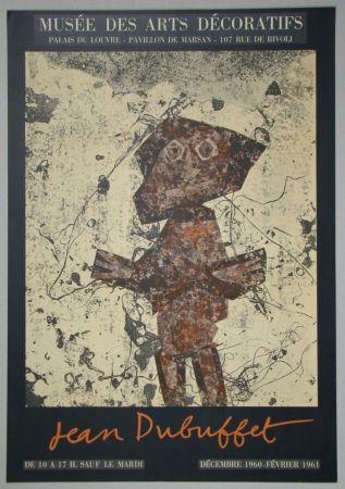 Lithographie Dubuffet - Jean Dubuffet