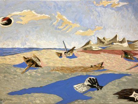 Aucune Technique Lurcat - Jean Lurçat(1892-1966). Apocalypse des Mal-assis N°4. Gouache
