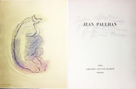 Livre Illustré Fautrier - Jean Paulhan : FAUTRIER L'ENRAGÉ (1949)