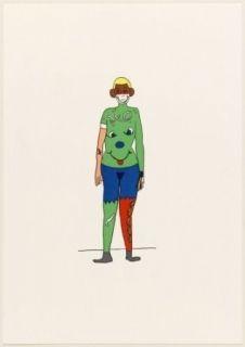 Lithographie Breuning  - Jeff
