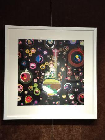 Lithographie Murakami - Jellyfish Eyes