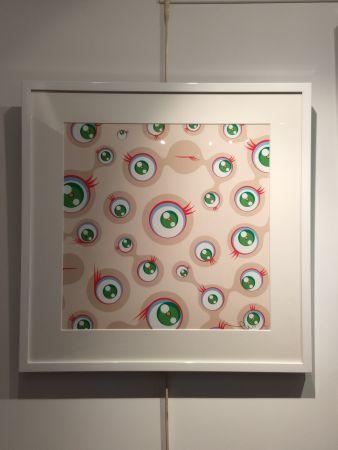 Lithographie Murakami - Jellyfish Eyes Cream