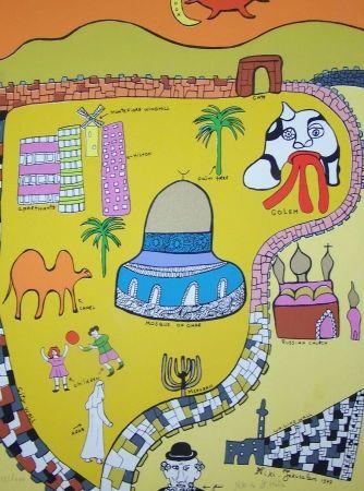 Sérigraphie De Saint Phalle - Jerusalem