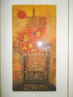 Gravure Engel - Jerusalem II