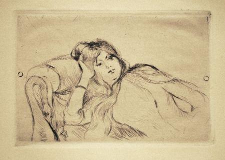 Pointe-Sèche Morisot - Jeune fille au repos