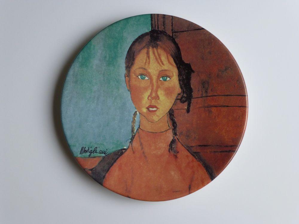 Aucune Technique Modigliani - Jeune fille aux yeux verts