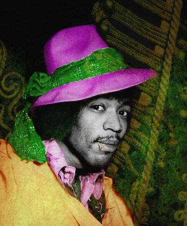 Photographie Mankowitz - Jimi with Hat