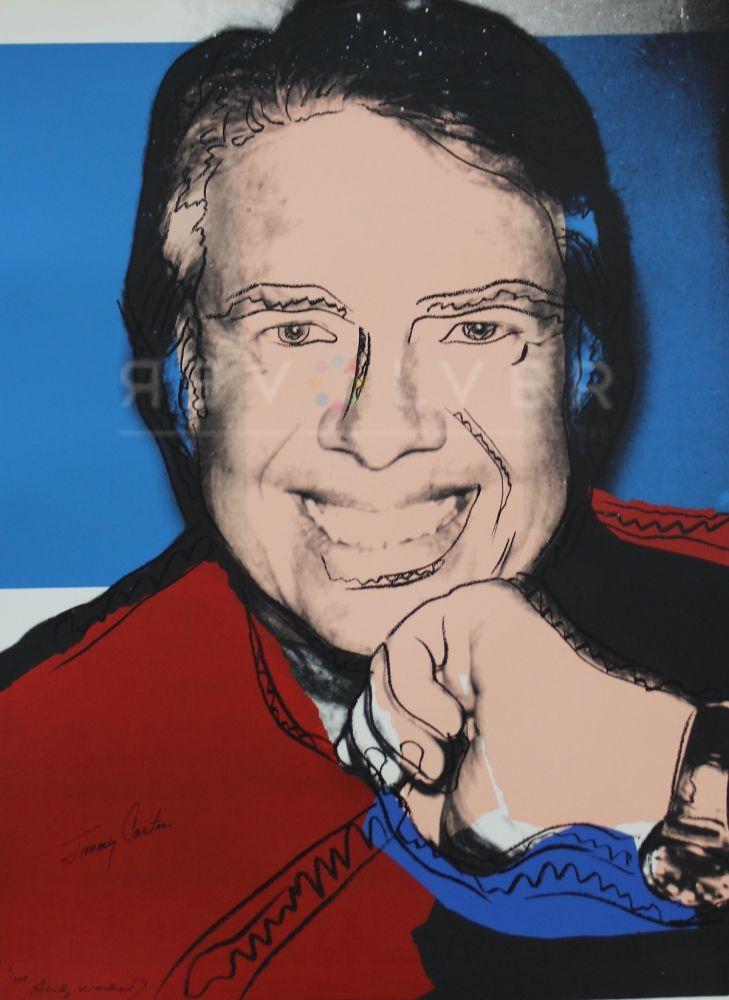 Sérigraphie Warhol - Jimmy Carter II (FS II.151)