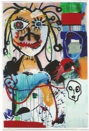 Lithographie Kostabi - Joachim