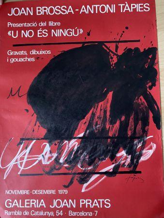 Affiche Tàpies - Joan Brossa- Antoni Tàpies Poster