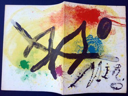 Livre Illustré Miró - JOAN MIRÒ. OEUVRE GRAPHIQUE ORIGINAL. CÉRAMIQUES - HOMMAGE MICHEL LEIRIS