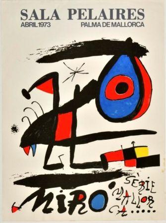 Affiche Miró - Joan Miró - Sala Pelaires