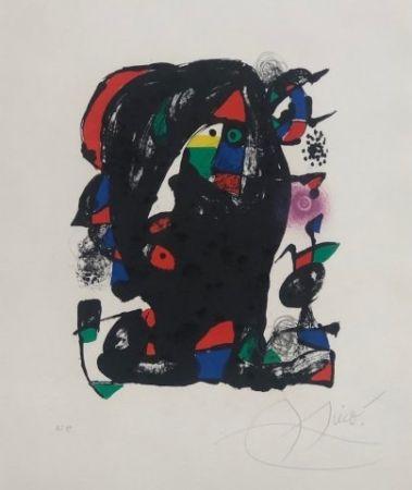Lithographie Miró - Joan Miró Litógrafo IV
