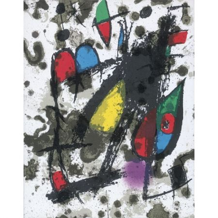 Livre Illustré Miró - Joan Miró Litógrafo. Vol. II: 1953-1963