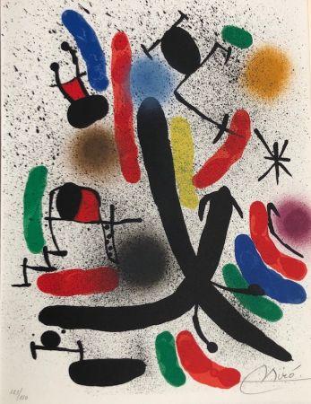 Lithographie Miró - Joan Miró Litografo I