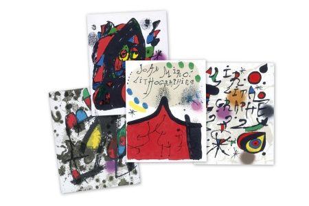 Livre Illustré Miró - Joan Miró Litografo I-II-III-IV-V-VI - Catalogue raisonne of the lithograhs
