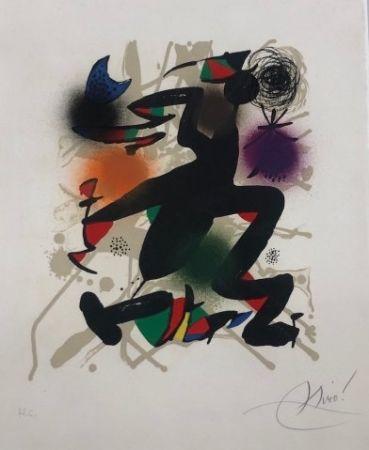 Lithographie Miró - Joan Miró Litografo III