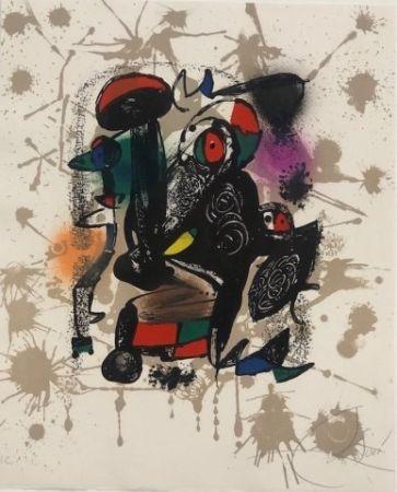 Lithographie Miró - Joan Miró Litografo IV