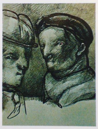 Lithographie Cuevas - Joan Prats 1982