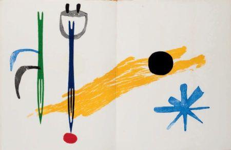 Livre Illustré Miró - Joao Cabral de Melo / Joan Miró