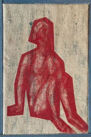 Sérigraphie Buraglio - Job, avec Cézanne, 2006