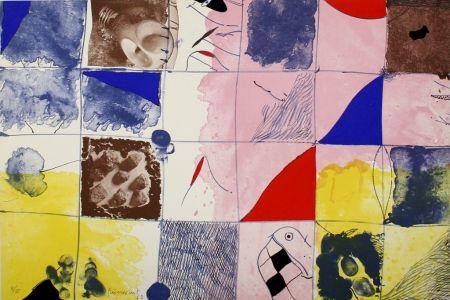 Lithographie Guinovart - Joc a terra
