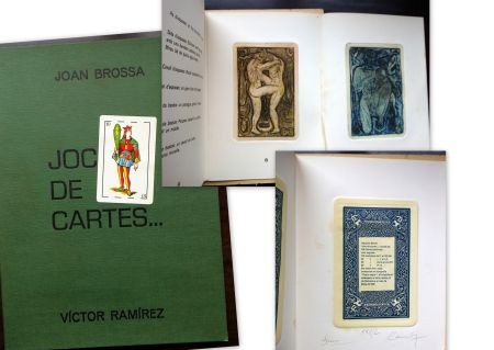 Livre Illustré Brossa - Joc de Cartes