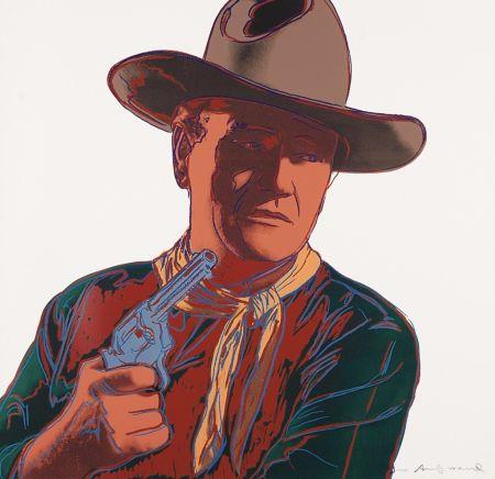 Sérigraphie Warhol - John Wayne