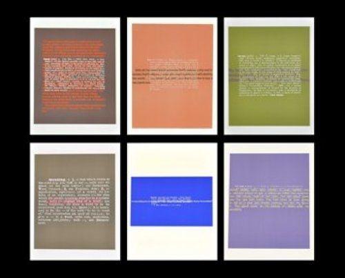 Lithographie Brüggemann - Joke & Definition